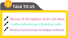 Discuss & Sit together churn out ideas, Review and commit, Draw & Realize